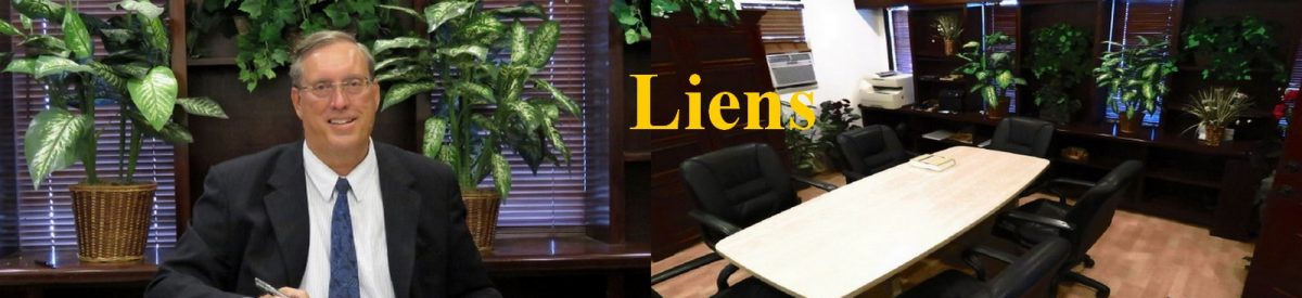 Construction Attorney Herbert Allen's guide to construction law liens.